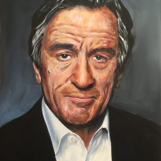 Portrait of Robert Deniro
